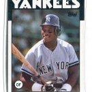 RICKEY HENDERSON 1986 Topps #500 New York NY Yankees