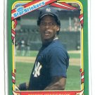 RICKEY HENDERSON 1987 Fleer Star Sticker #56 New York NY Yankees