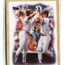 RICKEY HENDERSON / DON MATTINGLY 1987 Topps TL #406 New York NY Yankees