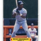 RICKEY HENDERSON 1988 Donruss All-Star Pop Up New York NY Yankees