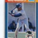 RICKEY HENDERSON 1989 Donruss All-Star #4 New York NY Yankees