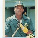 RICKEY HENDERSON 1984 Fleer #447 Oakland A's