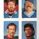 RICKEY HENDERSON 1985 Topps Sticker #283 Oakland A's
