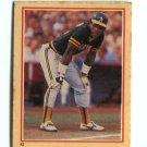 RICKEY HENDERSON 1984 Fleer Sticker #92 New york NY Yankees