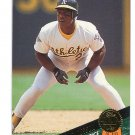 RICKEY HENDERSON 1993 Leaf #291 Oakland A's
