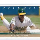 RICKEY HENDERSON 1993 Upper Deck #136 Oakland A's