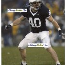DAN CONNOR Penn State Nittany Lions LB 2004=07  -  8x10 Carolina Panthers