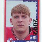 TIM SCHAFER 2002 Big 33 Ohio OH High School card OHIO STATE Buckeyes