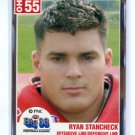 RYAN STANCHECK 2004 Big 33 High School card WEST VIRGINIA Mountaineers