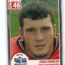 CHAD HOOBLER 2004 Big 33 High School card OHIO STATE Buckeyes DE