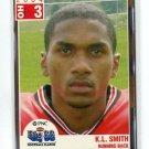 K.L. KL SMITH 2004 Big 33 High School card CINCINNATI Bearcats RB