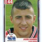 JASON GIANNINI 2004 Big 33 High School card MINNESOTA Gophers KICKER