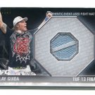 CLAY GUIDA 2012 Topps UFC Event-Used Octagon MAT RELIC #d/288