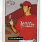 SCOTT MICHINSON 2005 Bowman Heritage #272 ROOKIE Philadelphia Phillies