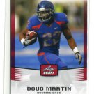 DOUG MARTIN 2012 Leaf Draft #16 ROOKIE Boise State Broncos TB BUCS Tampa Bay Buccaneers RB