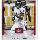 T.Y. TY HILTON 2012 Leaf Draft #46 ROOKIE Florida International COLTS WR