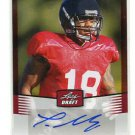 THOMAS MAYO 2012 Leaf Draft AUTO Autograph #TM1 ROOKIE Oakland Raiders WR