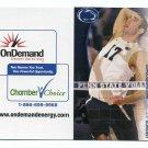 JOE SUNDER 2011-12 Penn State Men's Volleyball Schedule FULL SIZED