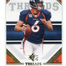 JAY CUTLER 2009 SP Threads #46 Broncos VANDERBILT Chicago Bears QB