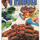 Marvel Comics: The End of THE THING with She-Hulk #36 June 1986