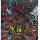 TEENAGE MUTANT NINJA TURTLES The Movie Comic Book 1990