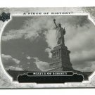 STATUE OF LIBERTY 2008 Upper Deck UD A Piece of History #157 HISTORICAL MOMENTS