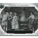 PHILADELPHIA LIBERTY BELL 2008 Upper Deck UD A Piece of History #192 HISTORICAL MOMENTS