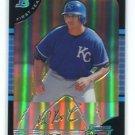 KILA KAAIHUE KA'AIHUE 2005 Bowman Chrome REFRACTOR #186 ROOKIE Kansas City Royals Kailua, HAWAII