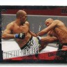 RANDY COUTURE vs. BRANDON VERA 2010 Topps UFC #197