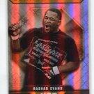 RASHAD EVANS 2010 Topps UFC Octagon of Honor INSERT #OOH-3