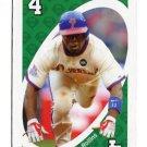 JIMMY ROLLINS 2010 Uno Card Game GREEN-4 Philadelphia Phillies