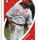 RYAN HOWARD 2010 Uno Card Game RED-7 Philadelphia Phillies