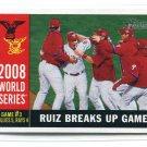 CARLOS RUIZ 2009 Topps Heritage #387 Philadelphia Phillies
