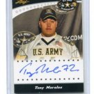 TONY MORALES 2011 Leaf Army All-American TOUR AUTO Texas Tech