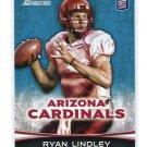 RYAN LINDLEY 2012 Bowman #104 ROOKIE San Diego State CARDINALS QB