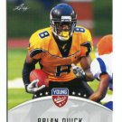 BRIAN QUICK 2012 Leaf Young Stars #15 ROOKIE Appalachian State RAMS WR