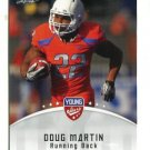 DOUG MARTIN 2012 Leaf Young Stars #34 ROOKIE Boise State TAMPA BAY Buccaneers RB