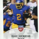 DUKE IHENACHO 2012 Leaf Young Stars #36 ROOKIE San Jose State BRONCOS Safety