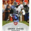 JANORIS JENKINS 2012 Leaf Young Stars #41 ROOKIE Florida Gators RAMS