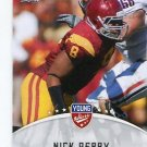 NICK PERRY 2012 Leaf Young Stars #67 ROOKIE USC Trojans GREEN BAY Packers LB