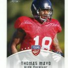 THOMAS MAYO 2012 Leaf Young Stars #83 ROOKIE Oakland Raiders WR