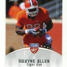 DWAYNE ALLEN 2012 Leaf Young Stars #95 ROOKIE Clemson Tigers COLTS TE