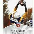 TIM BENFORD 2012 Leaf Young Stars #99 ROOKIE Dallas Cowboys WR