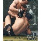 JENS PULVER vs. B.J. BJ PENN 2011 Topps Top Ten Title Fights UFC #TT-18 Hawaii