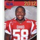 ARLINGTON McCLINTON 2012 Big 33 OH High School card AKRON DE