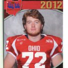 JAMES HENRY 2012 Big 33 OH High School card TOLEDO OT