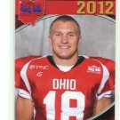 JOSH DOOLEY 2012 Big 33 OH High School card MIAMI of OHIO OLB