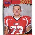 TROY WATSON 2012 Big 33 OH High School Facsimile AUTO card OHIO Guard