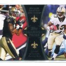MARQUES COLSTON / DARREN SPROLES 2012 Topps Paramount Pairs INSERT Saints
