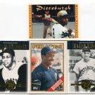 PW) STARGELL / BONDS / KINER 4-card lot Pittsburgh Pirates HOF